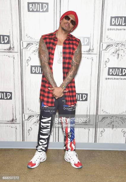 Nick Cannon visits the Build Series to discuss his new single 'Hold On' and other projects at Build Studio on January 31 2017 in New York City
