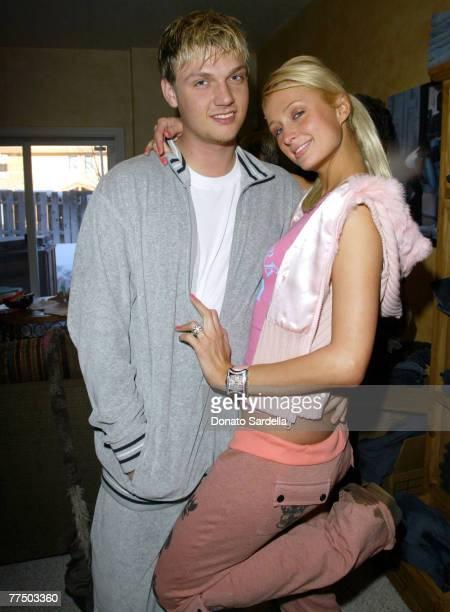 Nick Carter and Paris Hilton