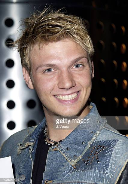Nick Carter at the 2002 Billboard Awards Backstage Creations Talent Retreat
