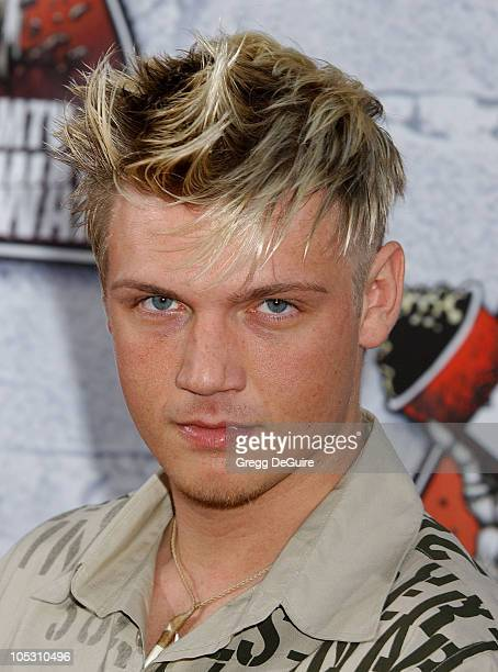 Nick Carter during MTV Movie Awards 2004 Arrivals at Sony Pictures Studios in Culver City California United States