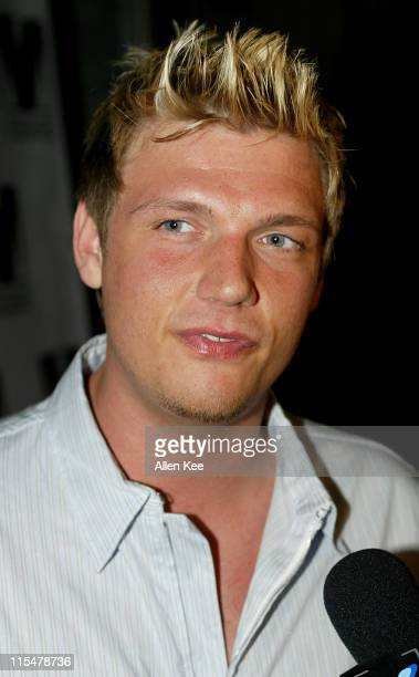 Nick Carter during Sirius Satellite Radio hosts VIP Winter Music Conference Party presented by Paris Hilton at Club Mansion Arrivals at Miami's...