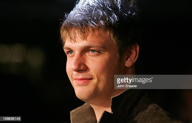 Nick Carter during William Rast Presents 'Street Sexy' Spring Summer 07 Red Carpet at Social Hollywood in Hollywood California United States