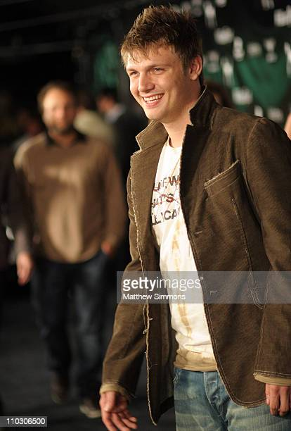 Nick Carter during William Rast Presents Street Sexy Spring Summer 07 Red Carpet at Social Hollywood in Hollywood California United States