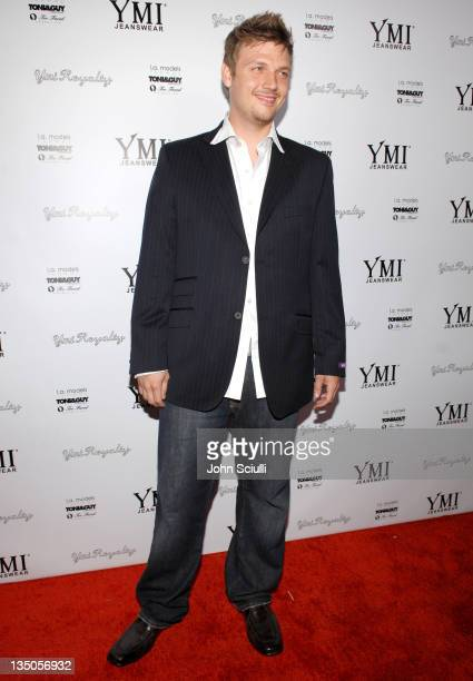 Nick Carter during YMI Jeans Fashion Show and Party in Los Angeles California United States