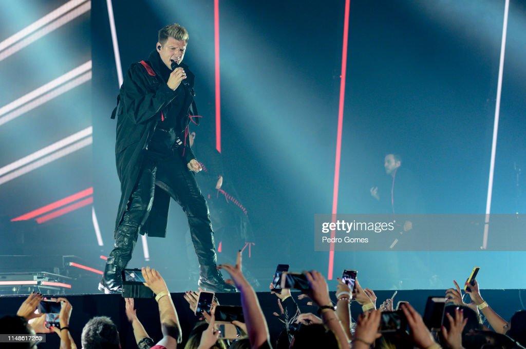 PRT: Backstreet Boys Perform In Concert In Lisbon