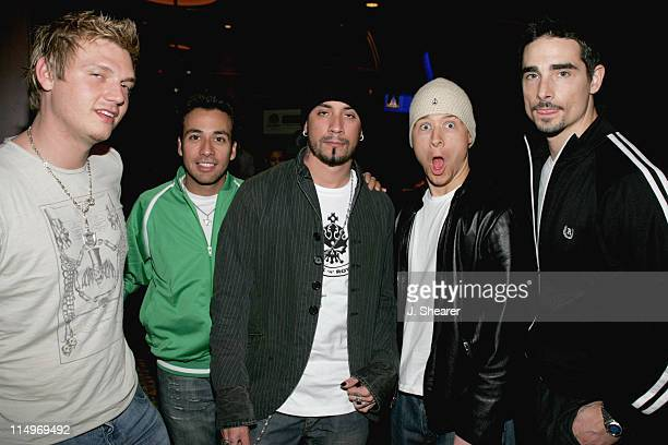 Nick Carter Howie Dorough AJ McLean Brian Littrell and Kevin Richardson of the Backstreet Boys Photo by J Shearer/WireImage for The Recording Academy