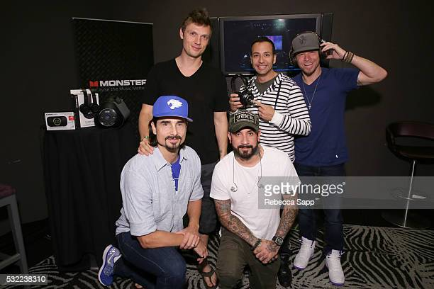Nick Carter Howie Dorough Brian Littrell Kevin Richardson and A J McLean of the Backstreet Boys attend 12th Annual MusiCares MAP Fund Benefit Concert...