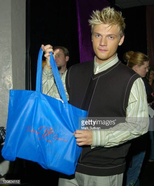 Nick Carter in Backstage Creations Talent Retreat at 2004 Motown 45 Special
