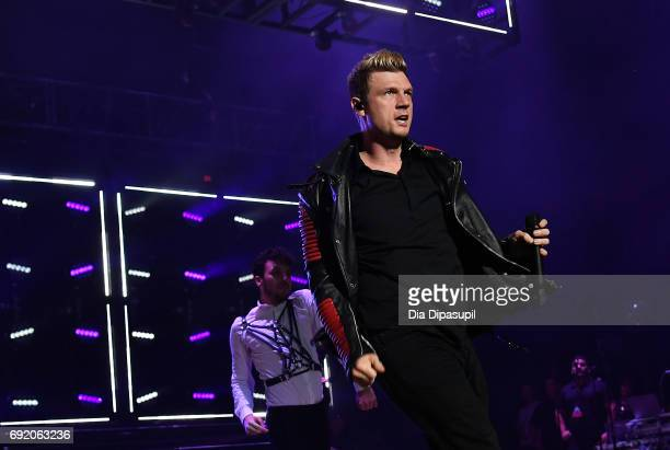 Nick Carter of Backstreet Boys performs onstage during 1035 KTU's KTUphoria 2017 presented by ATT at Northwell Health at Jones Beach Theater on June...