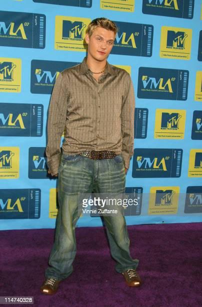 Nick Carter of The Backstreet Boys attending the 2002 MTV Video Music Awards Latinoamerica at the Jackie Gleason Theater Miami FL