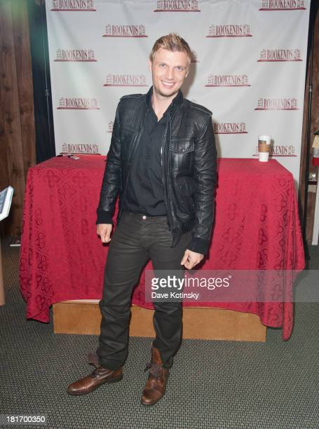 Nick Carter promotes his new book 'Facing The Music' at Bookends Bookstore on September 23 2013 in Ridgewood New Jersey