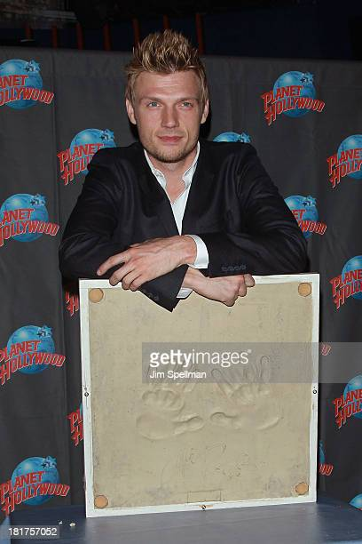 Nick Carter visits at Planet Hollywood Times Square on September 24 2013 in New York City