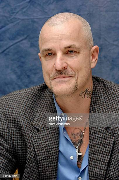 Nick Cassavetes during Alpha Dog Press Conference with Justin Timberlake and Nick Cassavetes at Four Season Beverly Hills in Beverly Hills California...