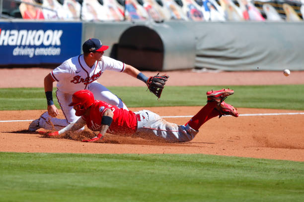 GA: Wild Card Round - Cincinnati Reds v Atlanta Braves - Game One