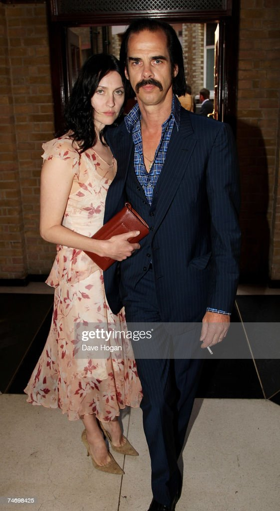 Nick Cave and his wife Susie Bick arrive at the Mojo Honours List Awards Ceremony at The Brewery on June 18, 2007 in London, England.