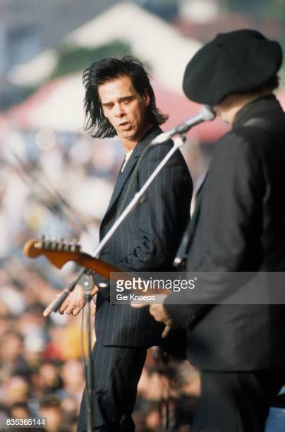 Nick Cave and the Bad Seeds Nick Cave Blixa Bargeld Torhout/Werchter Festival Torhout Belgium