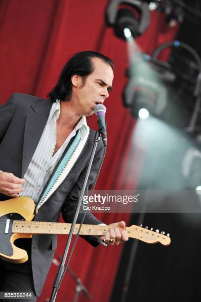 Nick Cave and the Bad Seeds Nick Cave Rock Werchter Festival Werchter Belgium
