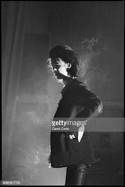Nick Cave and The Birthday Party performing at The Venue Victoria London UK on 26 November 1981