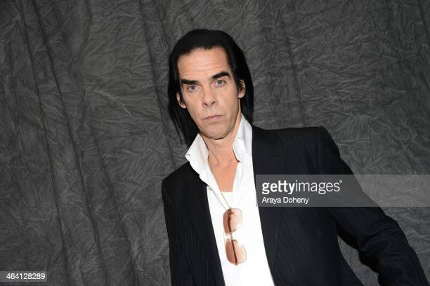 "Nick Cave attends the ""20,000 Days On Earth"" premiere at Egyptian Theatre on January 20, 2014 in Park City, Utah."