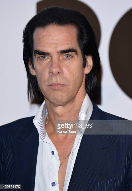 "Nick Cave attends the ""20,000 Days on Earth"" screening at Barbican Centre on September 17, 2014 in London, England."