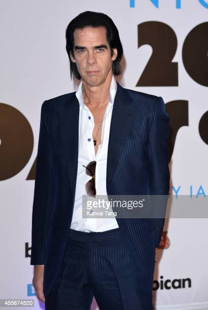 """Nick Cave attends the """"20,000 Days on Earth"""" screening at Barbican Centre on September 17, 2014 in London, England."""