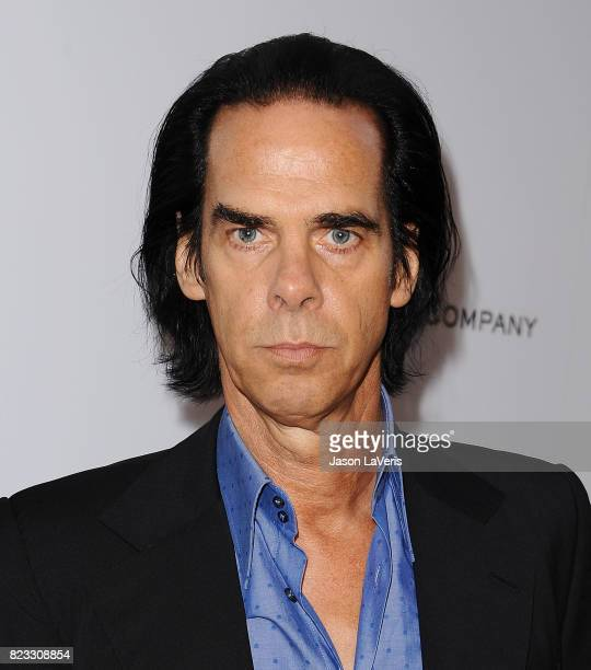 Nick Cave attends the premiere of 'Wind River' at The Theatre at Ace Hotel on July 26 2017 in Los Angeles California