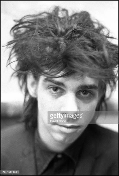 Nick Cave in disused church in Kilburn London United Kingdom on 22 October 1981