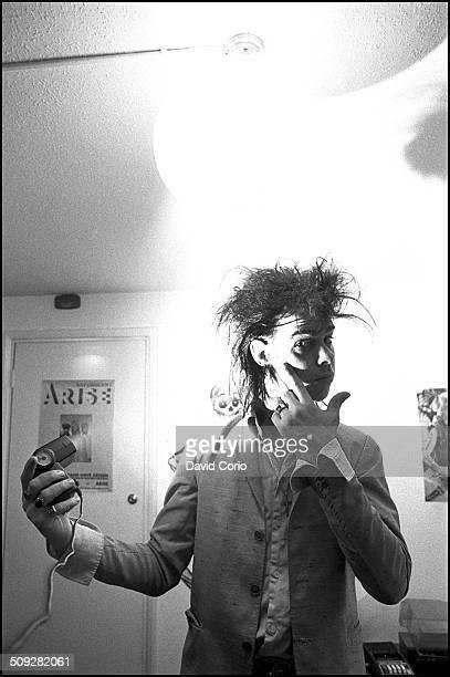 Nick Cave in Kilburn, London 15 July 1982.