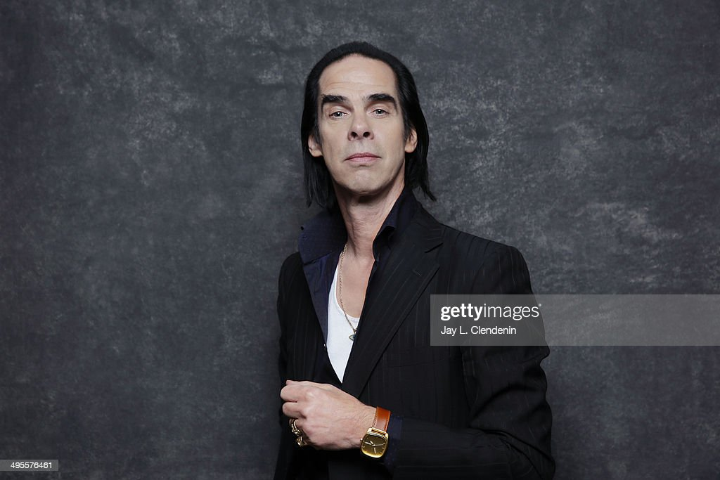 Nick Cave is photographed for Los Angeles Times on January 18, 2014 in Park City, Utah. PUBLISHED IMAGE.