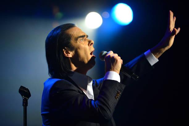 GBR: Nick Cave & Warren Ellis Perform At The Royal Albert Hall