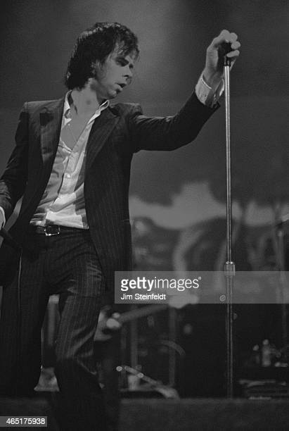 Nick Cave performs at the Wiltern Theatre in Los Angeles California on September 18 1998