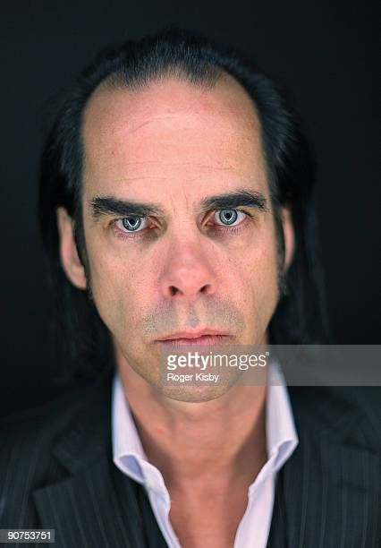 Nick Cave poses for a portrait at the ATP New York 2009 festival at the Kutsher's Country Club on September 12, 2009 in Monticello, New York.