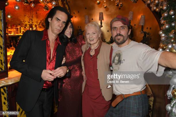 Nick Cave Susie Cave Vivienne Westwood and Andreas Kronthaler attend the Nick Cave The Bad Seeds x The Vampires Wife x Matchesfashioncom party at...
