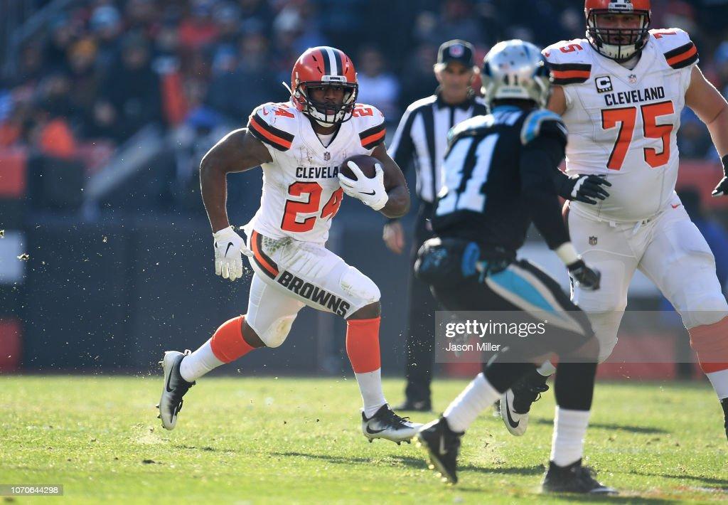 Carolina Panthers v Cleveland Browns : Nachrichtenfoto