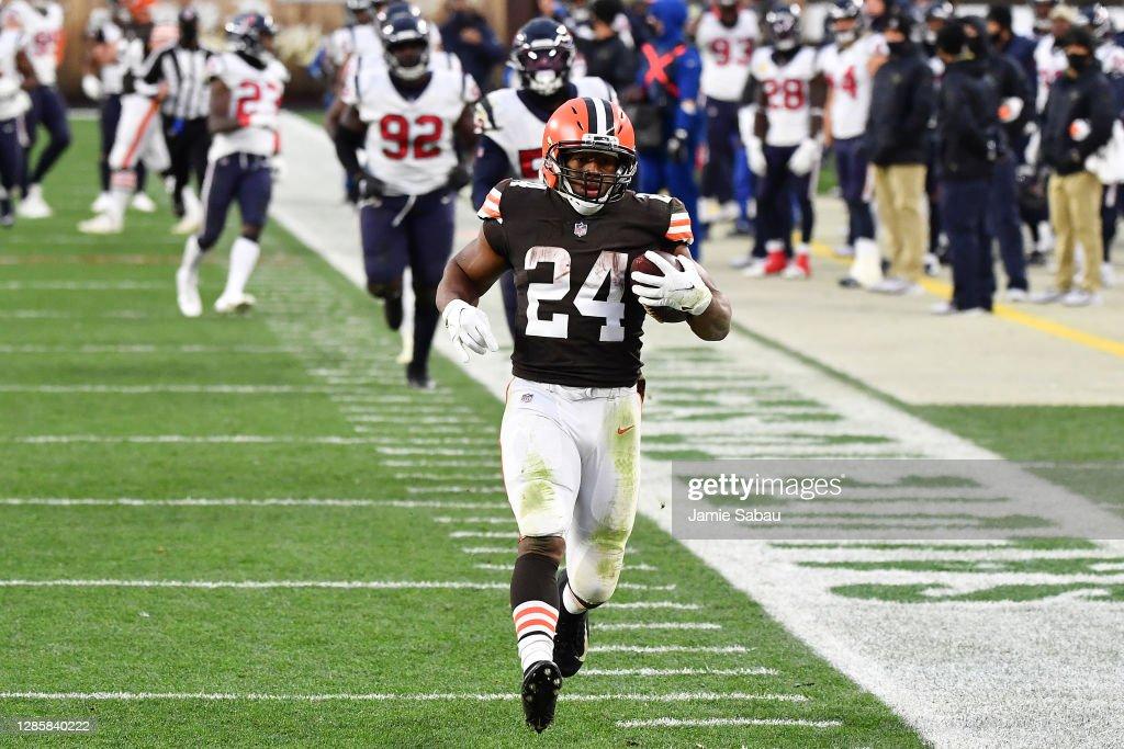 Houston Texans v Cleveland Browns : Photo d'actualité