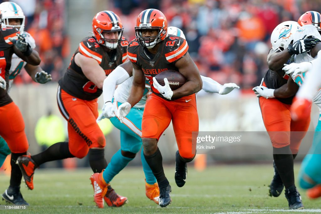 Miami Dolphins v Cleveland Browns : News Photo