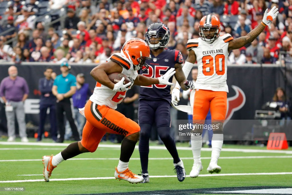 Cleveland Browns v Houston Texans : News Photo
