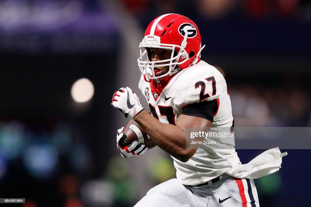 SEC Championship - Auburn v Georgia : News Photo
