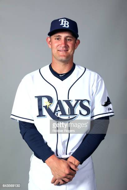 Nick Ciuffo of the Tampa Bay Rays poses during Photo Day on Saturday February 18 2017 at Charlotte Sports Park in Port Charlotte Florida