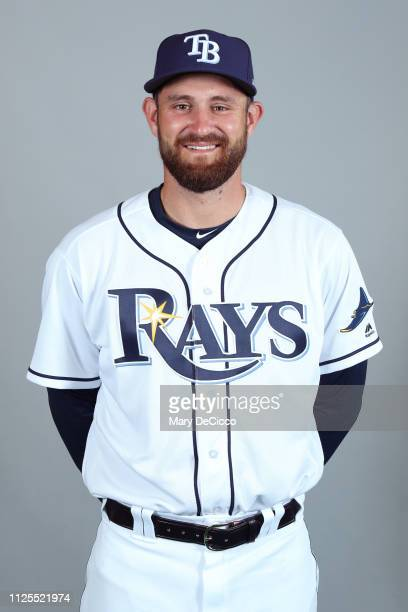 Nick Ciuffo of the Tampa Bay Rays poses during Photo Day on Sunday February 17 2019 at Charlotte Sports Park in Port Charlotte Florida