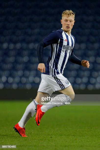 Nick ClaytonPhillips of West Bromwich Albion during the FA Youth Cup game between West Bromwich Albion and Leyton Orient on December 5 2017 in West...