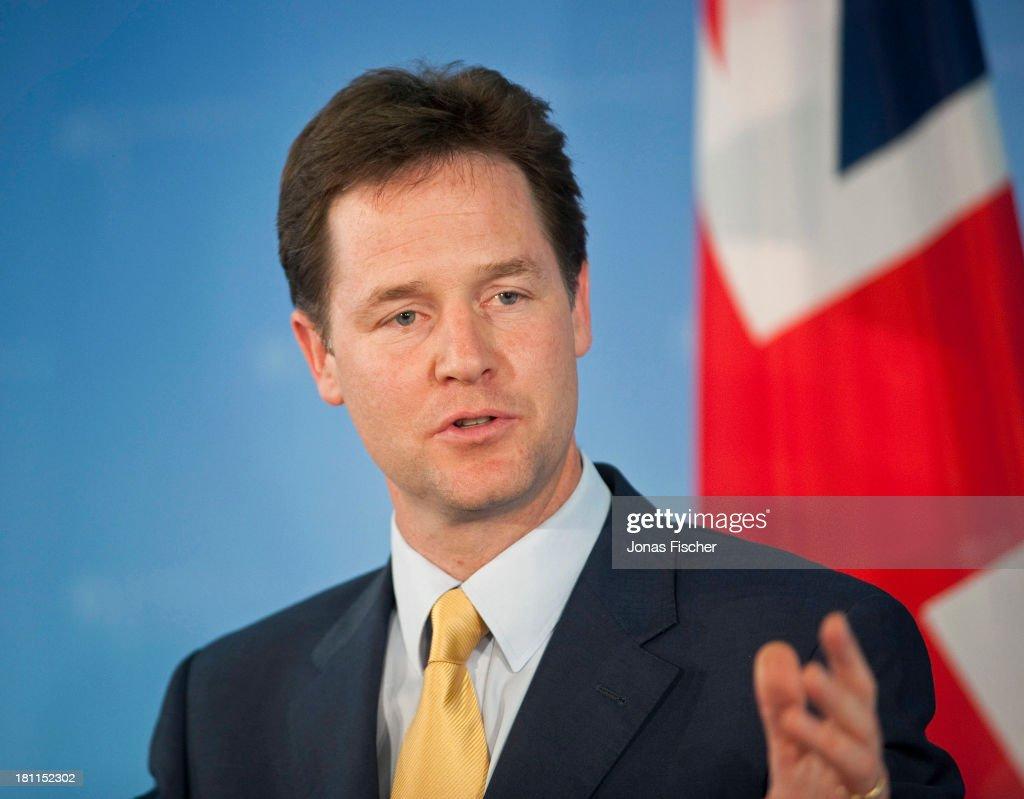Nick Clegg , Deputy Prime Mini...