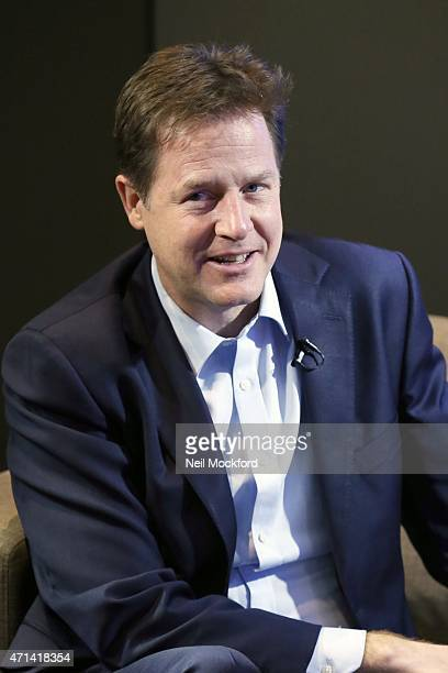 Nick Clegg interview with Nick Snaith and Aileen O'Sullivan for Magic in the Morning on April 28 2015 in London England