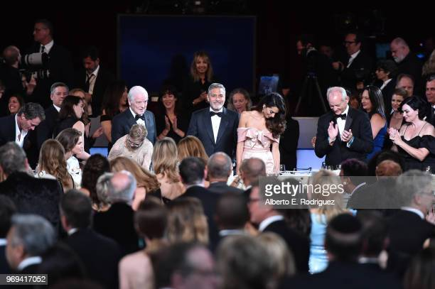 Nick Clooney 46th AFI Life Achievement Award Recipient George Clooney Amal Clooney and Bill Murray attend the American Film Institute's 46th Life...