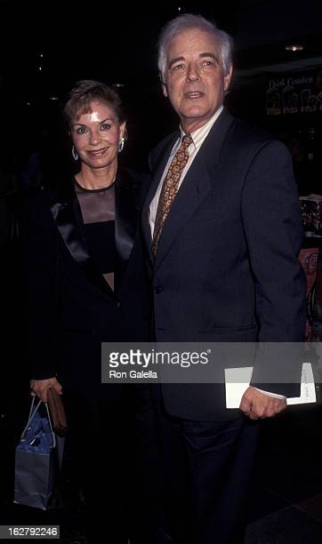 Nick Clooney and Nina Clooney attend the premiere of Out Of Sight on June 24 1998 at Chelsea West Cinemas in New York City
