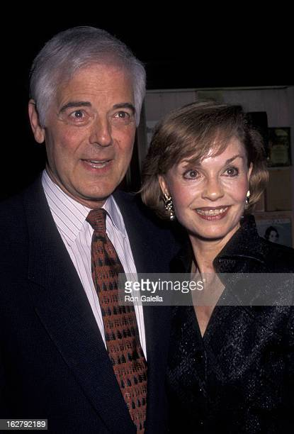 Nick Clooney and Nina Clooney attend the premiere of The Peacemaker on September 22 1997 at the Ziegfeld Theater in New York City