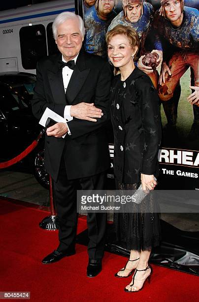 Nick Clooney and Nina Warren arrive to the premiere of Universal Pictures' Leatherheads held at Grauman's Chinese Theatre on March 31 2008 in...