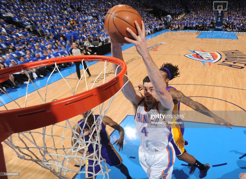 Los Angeles Lakers v Oklahoma City Thunder - Game One