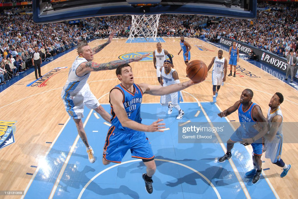 Oklahoma City Thunder v Denver Nuggets - Game Three