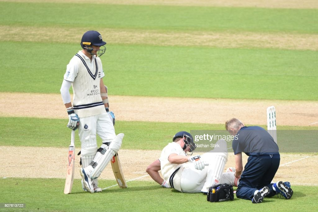 Warwickshire v Middlesex - Specsavers County Championship: Division One : News Photo